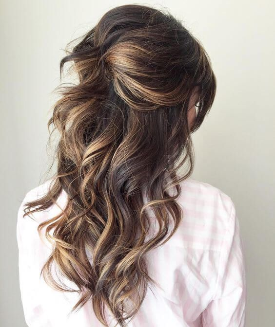 20 Perfect Half Up Half Down Hairstyles for the Bride • Mrs2Be .