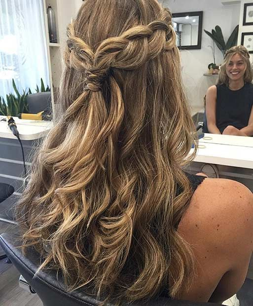 20 highly fashionable hairstyles for long hair - all about women .