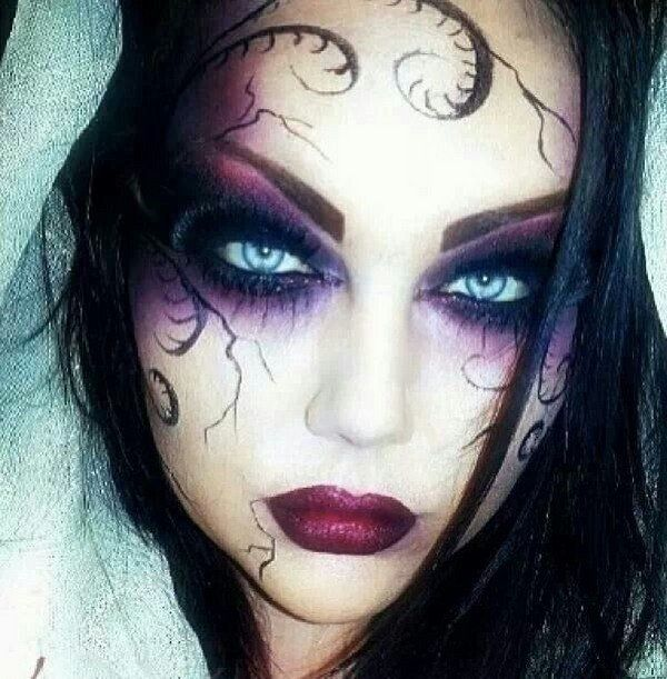 Pretty Witches Faces | The best Halloween witch make up and .
