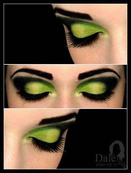 Green | Dalė G.'s Photo | Beautylish | Pretty witch makeup, Witch .