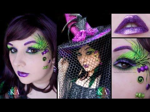 Halloween Witch Makeup Tutorial - YouTu