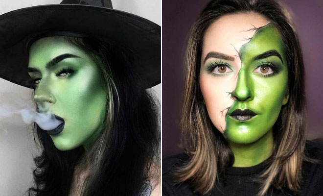 43 Best Witch Makeup Ideas for Halloween | StayGl