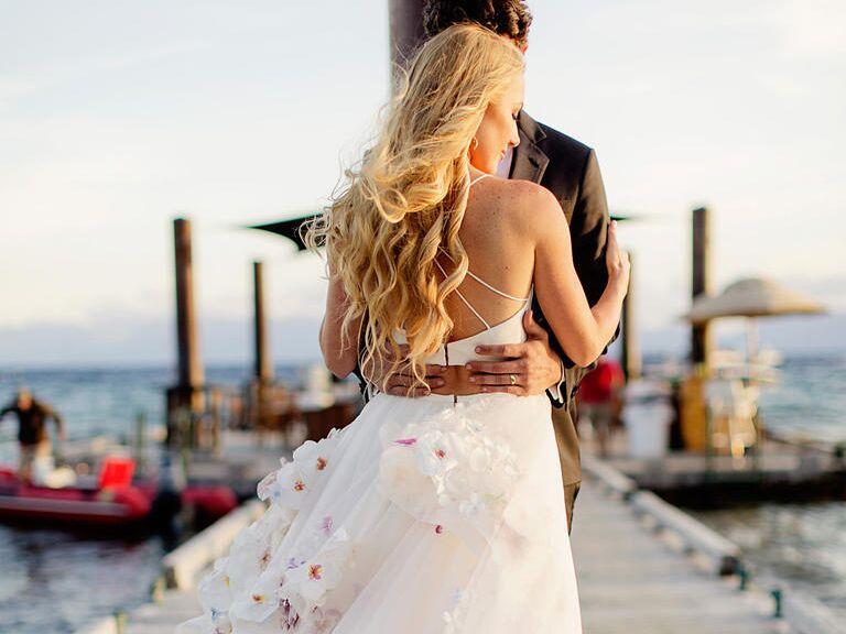 Watch Wedding Dress Designer Hayley Paige's Wedding Vid