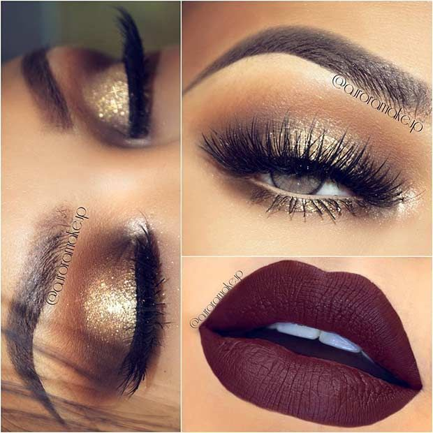 Makeup Ideas 2017/ 2018 - Holiday Party Makeup Look - Flashmode .