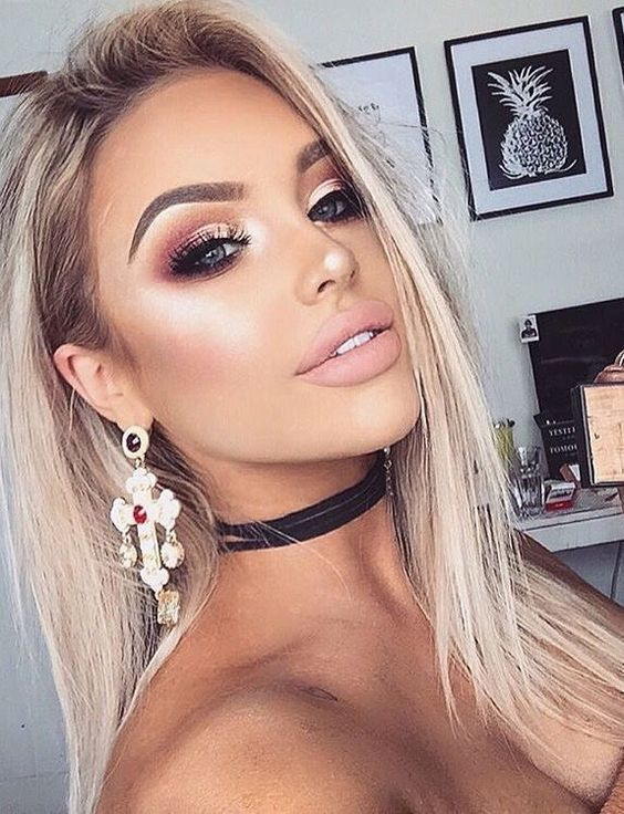 Best Holiday Party Makeup Inspiration – fashiontur.com in 2020 .