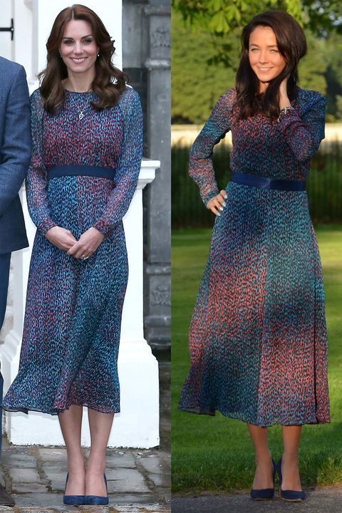 Woman Replicates Kate Middleton's Best Outfits on the Che