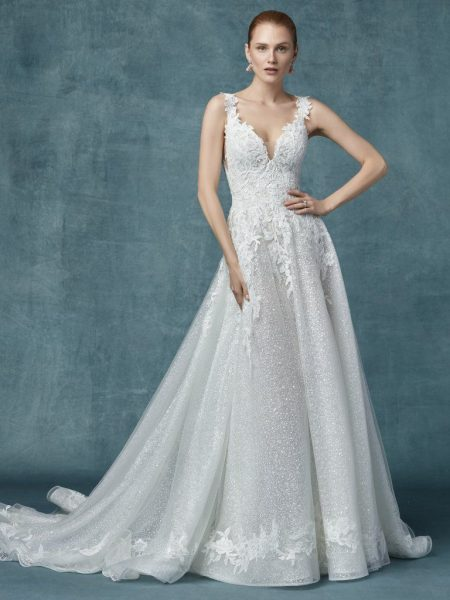 maggie sottero sparkly dress, OFF 72%,Best Deals Online