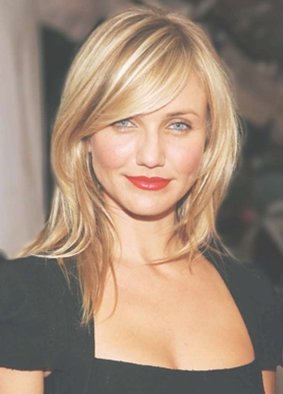 Best Medium Straight Hairstyles with Bangs for a New Look .