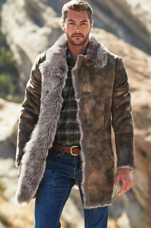 Jackson Toscana Sheepskin Coat | Overland | Mens outdoor fashion .