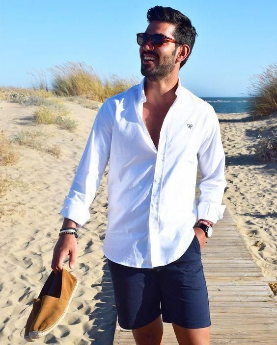 Summer Outfit Ideas For Men (17 Looks) #mensfashionstyle | Summer .