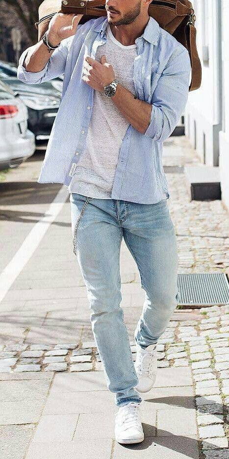 7 Blogger Approved Summer Outfit Ideas | Mens fashion casual .