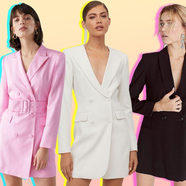 Blazer dress | 21 best blazer dress styles to shop n