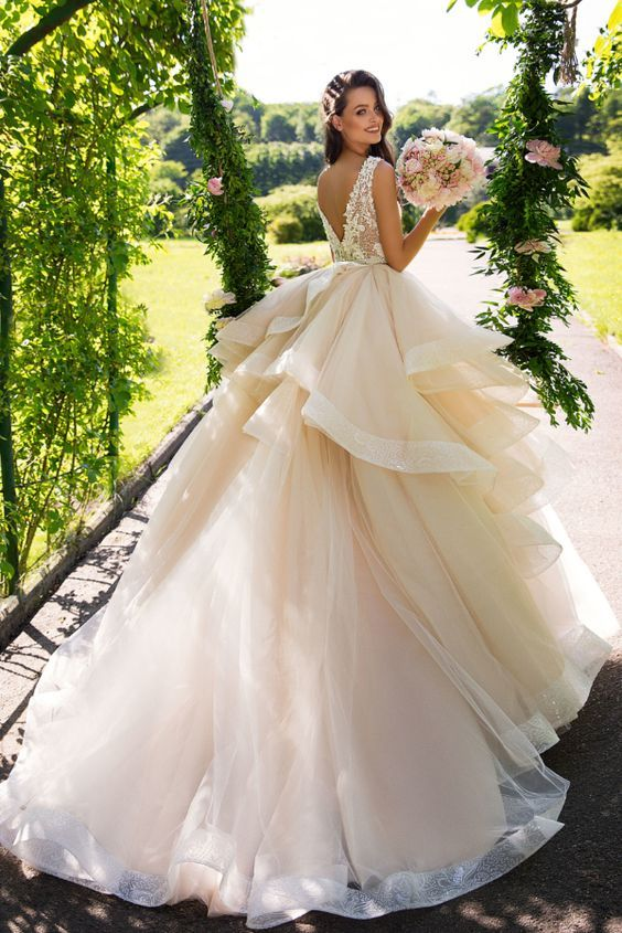 Wedding Dress Inspiration - MillaNova - MODwedding | Ball gown .