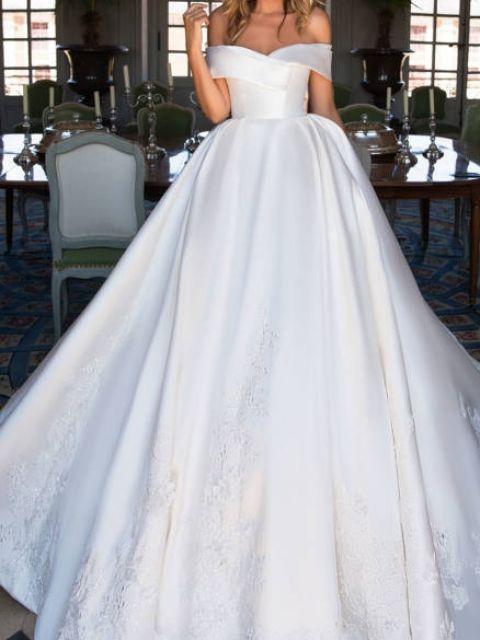 Milla Nova Virginia Wedding Dress | New, Size: 6, $1,8