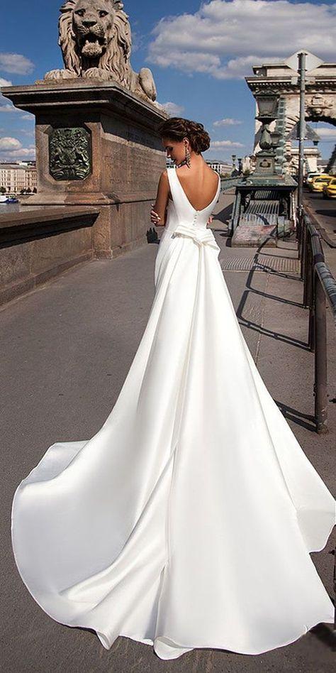 15 Best Milla Nova Hochzeitskleid Inspiration | Satin mermaid .