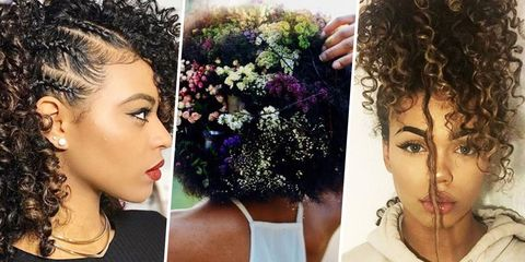 9 Best Natural Hairstyles of 2017 - How to Style Natural Curly Ha