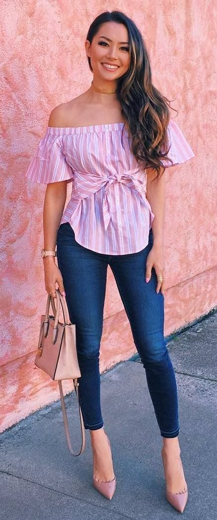 15 Best Outfit That Make Your Looks More Feminine | Fashion, Jeans .