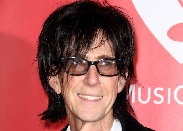 How old was Ric Ocasek and what were his band The Cars' biggest .