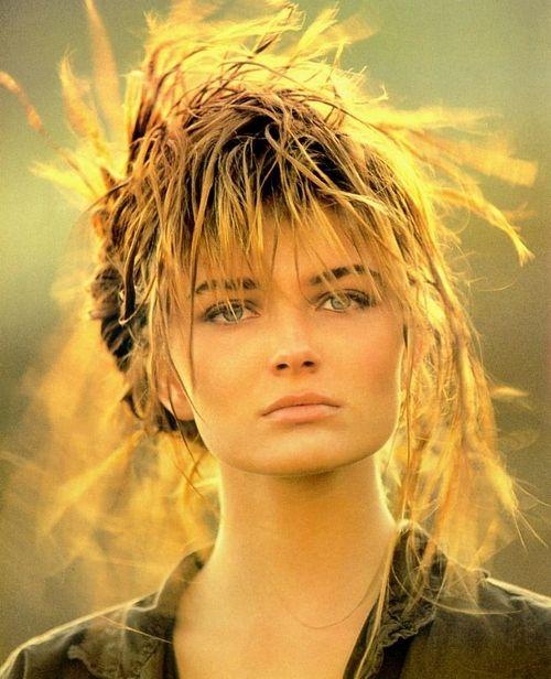 Paulina Porizkova (via Glamazons: The Best Supermodels Of The 80s .