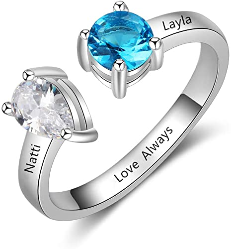 Amazon.com: Stacking Ring 3pcs Best Friend Rings for 3 Rings for .