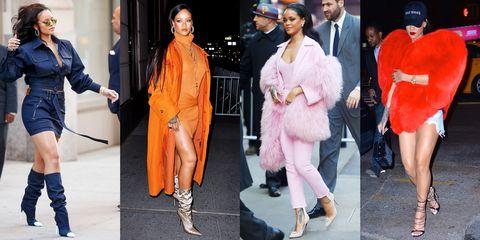 Rihanna Best Street Style Outfits | 88 Rihanna Fashion Loo