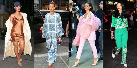 Rihanna's Best Outfits - Rihanna Fashion Evolution and Style Phot