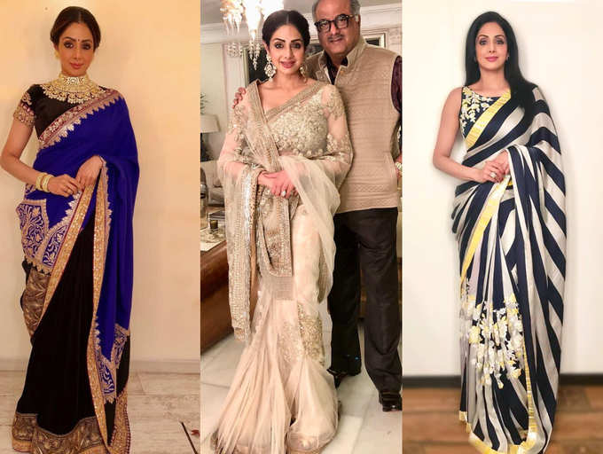 Sridevi Birthday Anniversary: Five best saree moments of the .