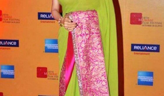 15 The Best Sridevi Saree Inspiration You Will Like   Saree .
