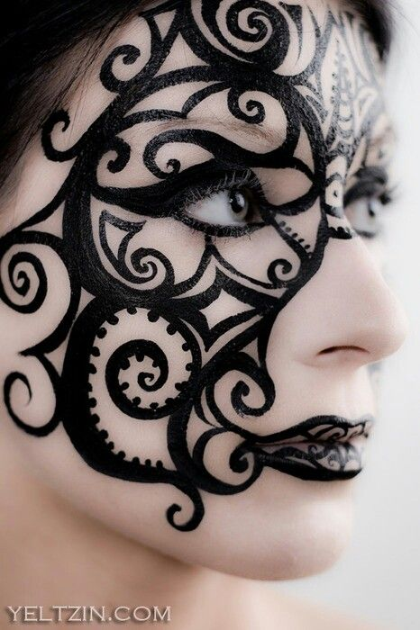 Beautiful Halloween Makeup Ideas | Steampunk makeup, Beautiful .