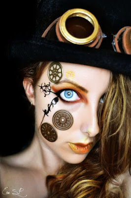 Steampunk Fashion Guide: Steampunk Makeup Gui