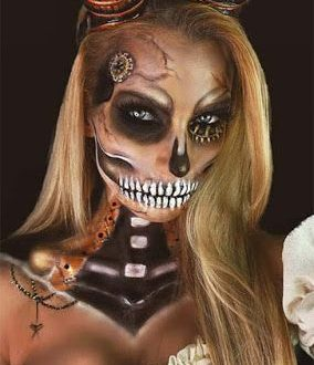Best STEAMPUNK Make Up for Halloween – fashiontur.com in 2020 .