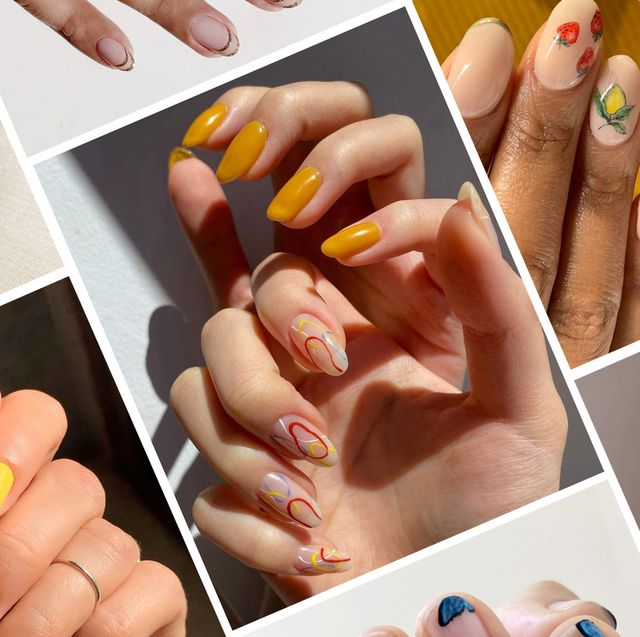Summer 2020 Nail Trends - Summer Vacation Manicure Ide