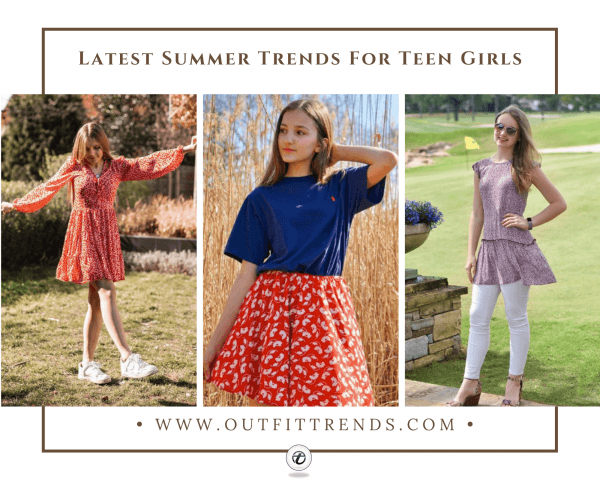 61 Chic Summer Outfits For Teen Girls 2020 - Summer Styl