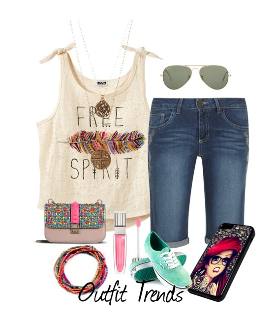 17 Cute Summer Outfits for High School Girls This Year | Summer .