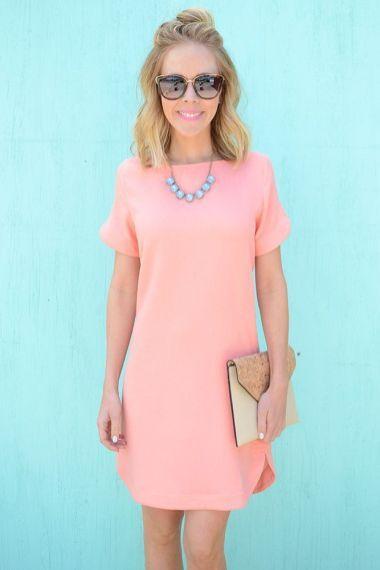 50+ Best Summer Work Dresses   Summer work dresses, Simple dresses .