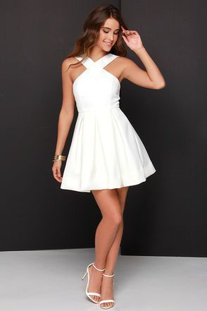 50 Best Sweet 16 Dresses Ideas (With images) | White homecoming .