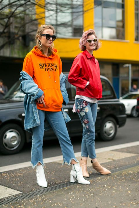 The Best Street Style from London Fashion Week | Cool street .