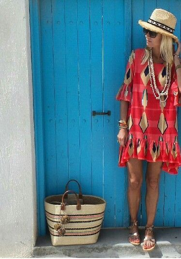 Vacation style. … (With images) | Fashion, Style, Summer fashi