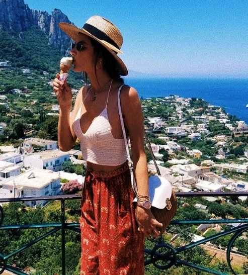 Best Model Off Duty Summer Vacation Style | FASHI
