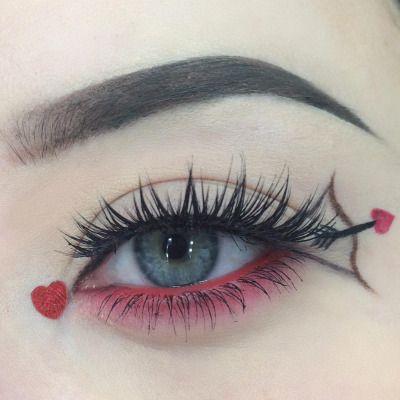 valentine's day look | Artistry makeup, Eye makeup, Make