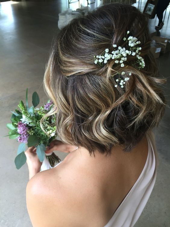 Wedding Hairstyles for Short Hair | Formal hairstyles for short .