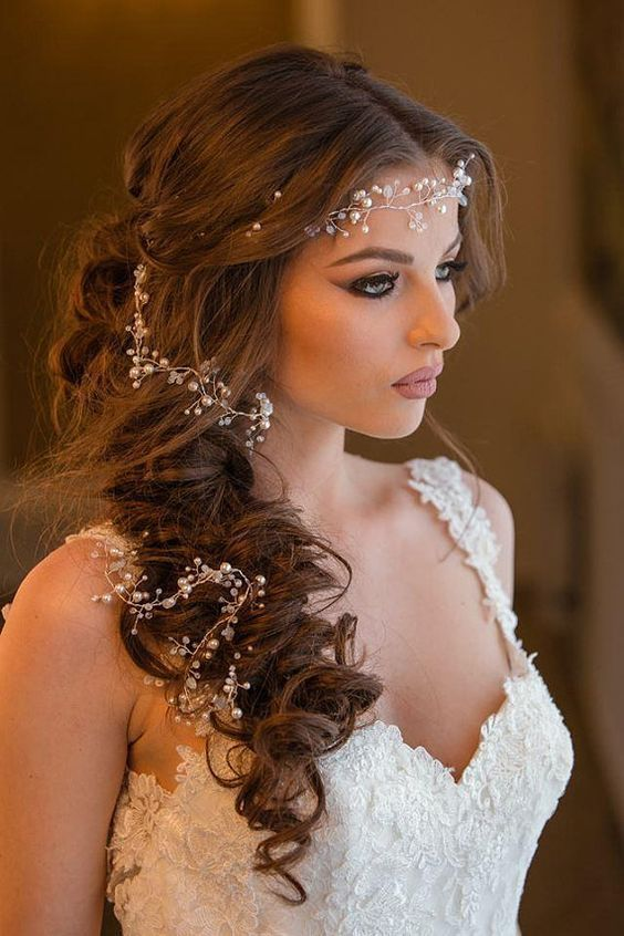 11 Cute & Romantic Hairstyle Ideas for Wedding - Best Hairstyle .