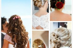 Best Beach Wedding Hairstyles | Destination Wedding Detai