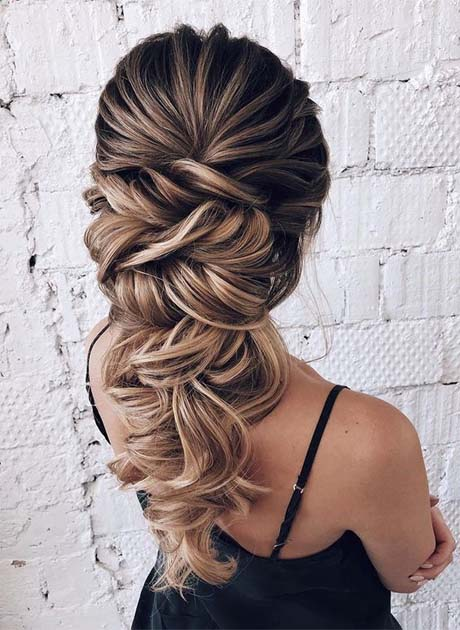 Best Wedding Hairstyles 2018-2019 | Latest Fashion Trends .