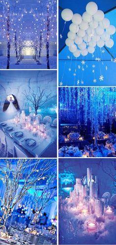 Best Winter Wonderland Theme Party | Wonderland wedding theme .
