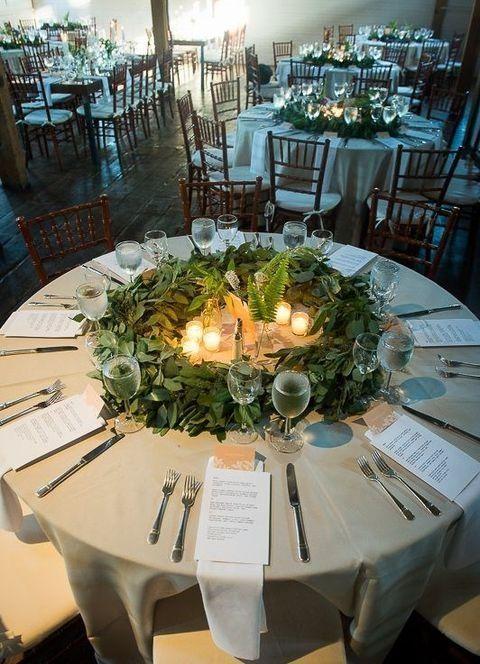 25 Best Winter Wonderland Theme Party | Eucalyptus wedding decor .