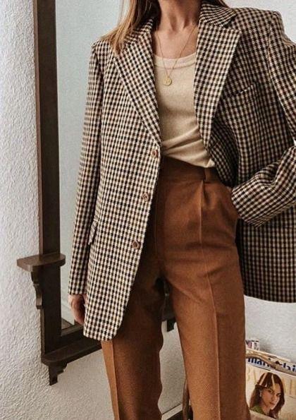 30+ Stylish Ways to Wear Oversized Blazer This Fall | Кэжуал .
