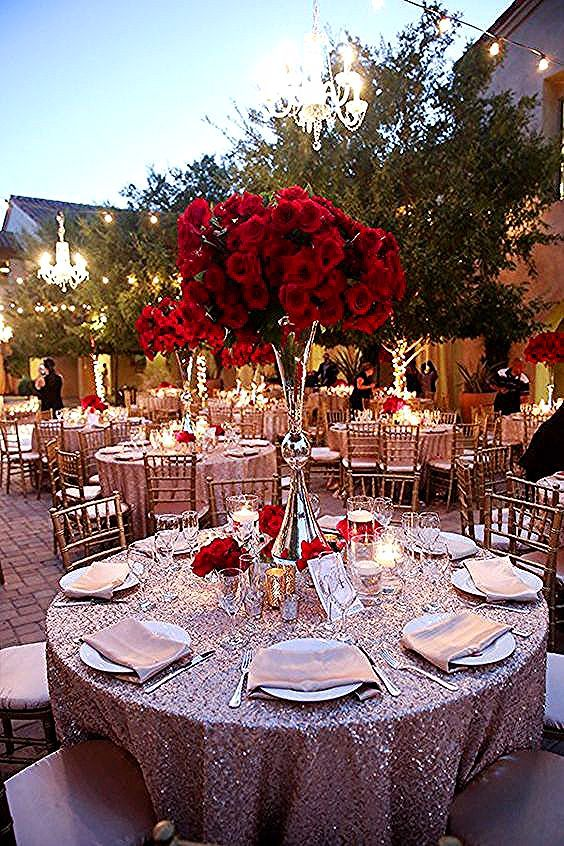 Burgundy Quinceanera Themes Designing a Red Roses Quinceanera .