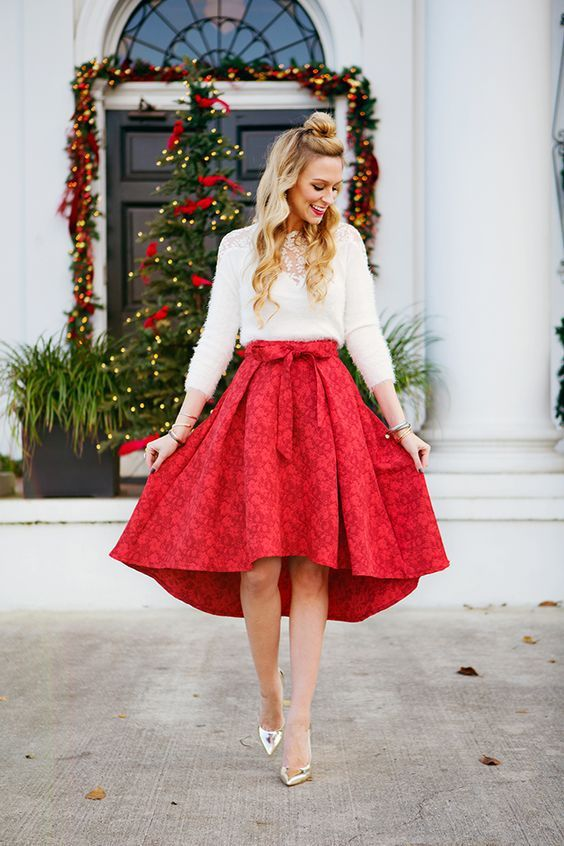 50 Cute Christmas Outfits Ideas To Copy » EcstasyCoffee | Casual .