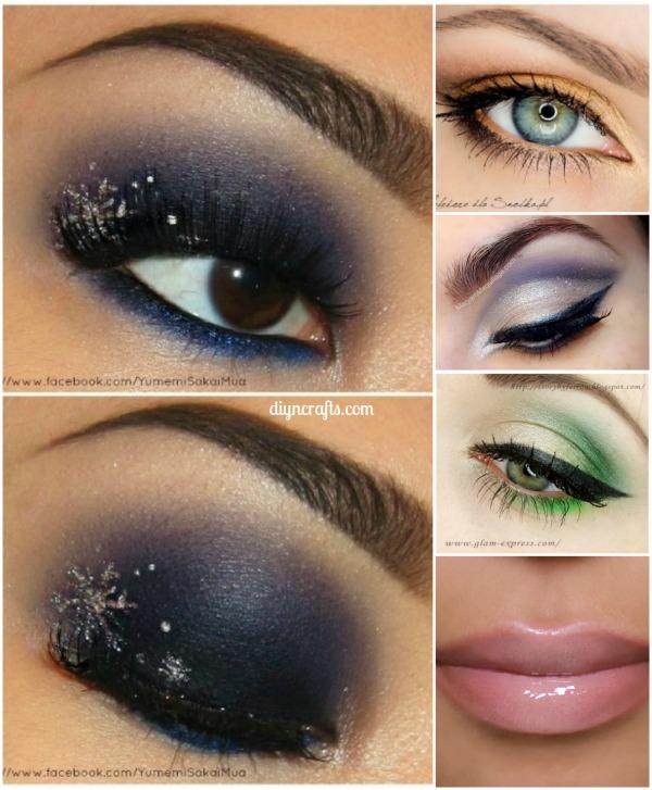 10 Stylishly Festive Christmas Makeup Ideas - DIY & Craf